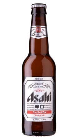 Asahi Super Dry Beer graphic